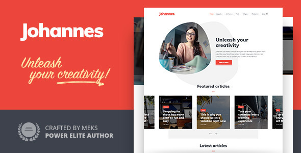 Johannes – Multi-thought Personal Blog & Magazine WordPress theme – WP Theme Download