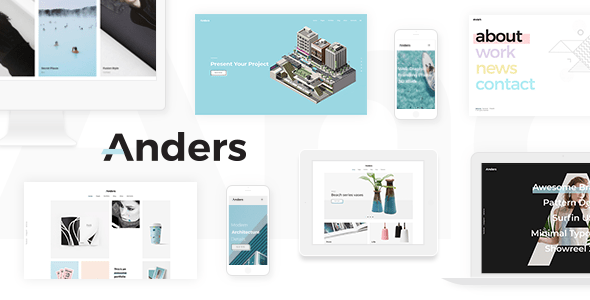 Anders – Accept as true with Portfolio Theme – WP Theme Download