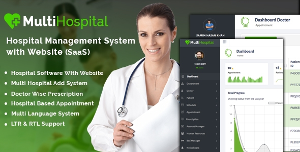 Multi Sanatorium – Most effective Sanatorium Administration Machine (SaaS App) – PHP Script Download
