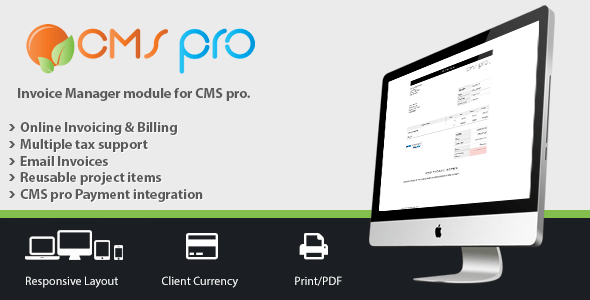 Invoicing Module for CMS real – PHP Script Download