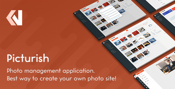 Picturish – Image net net hosting, editing and sharing – PHP Script Download