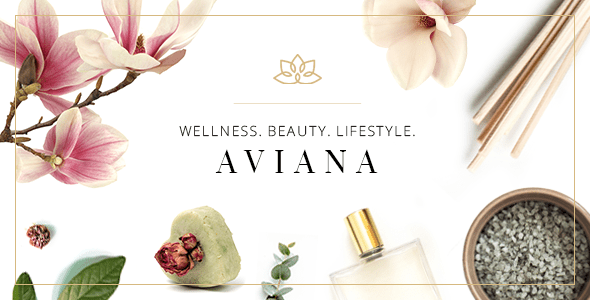 Aviana – Shapely Wellness & Spa Theme – WP Theme Download