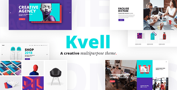 Kvell – A Ingenious Multipurpose Theme for Freelancers and Companies – WP Theme Download