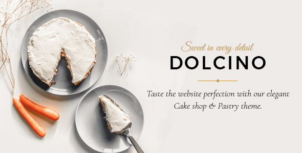 Dolcino – Pastry and Cake Store Theme – WP Theme Download