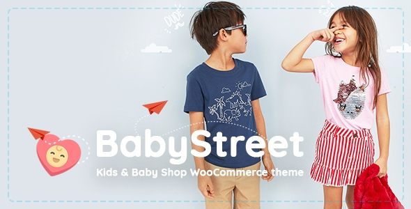 BabyStreet – WooCommerce Theme for Younger contributors Stores and Toddler Stores Dresses and Toys – WP Theme Download