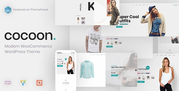 Cocoon – Contemporary WooCommerce WordPress Theme – WP Theme Download
