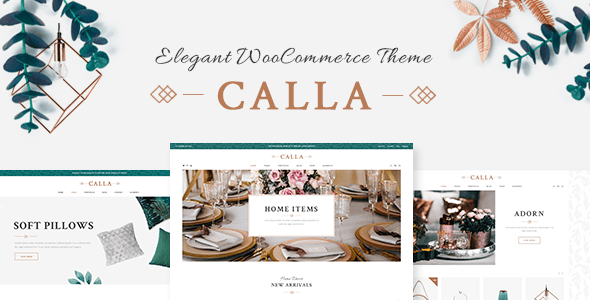 Calla – Tidy Dwelling Decoration Shop – WP Theme Download