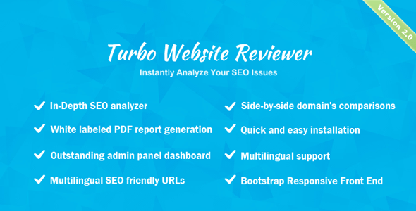 Turbo Web establish Reviewer – In-depth web optimization Prognosis Tool – PHP Script Download