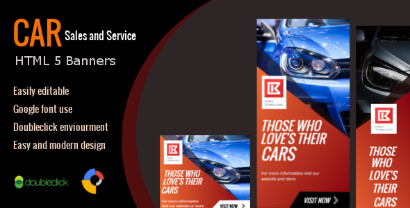 Automobile Gross sales and Carrier – HTML Appealing Banner 01 – PHP Script Download