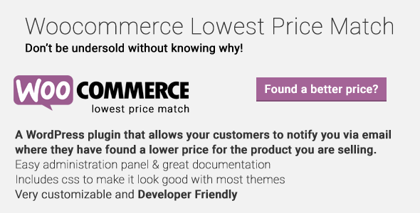 Woocommerce Lowest Designate Match – PHP Script Download