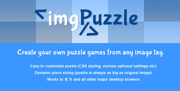 jQuery – imgPuzzle – PHP Script Download