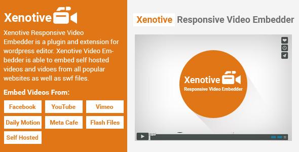 Xenotive Responsive Video Embedder – PHP Script Download