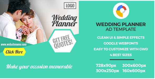 Bridal ceremony – GWD HTML5 Ad Banners – PHP Script Download