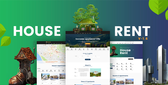 HouseRent – Multi Conception Condo WordPress Theme – WP Theme Download