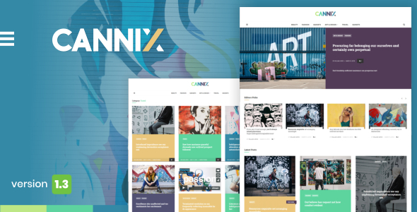 Cannix – A Vibrant WordPress Theme for Inventive Bloggers – WP Theme Download