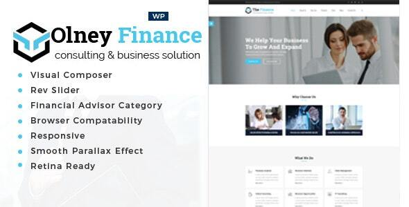 Olney Finance -Alternate Consulting WordPress Theme – WP Theme Download
