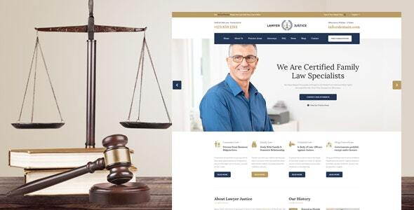 Attorney & Justice – WordPress Theme for Legal professionals Attorneys and Rules Firm – WP Theme Download