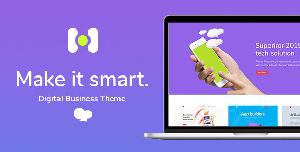 Hotspot – Orderly Theme for Digital Enterprise – WP Theme Download