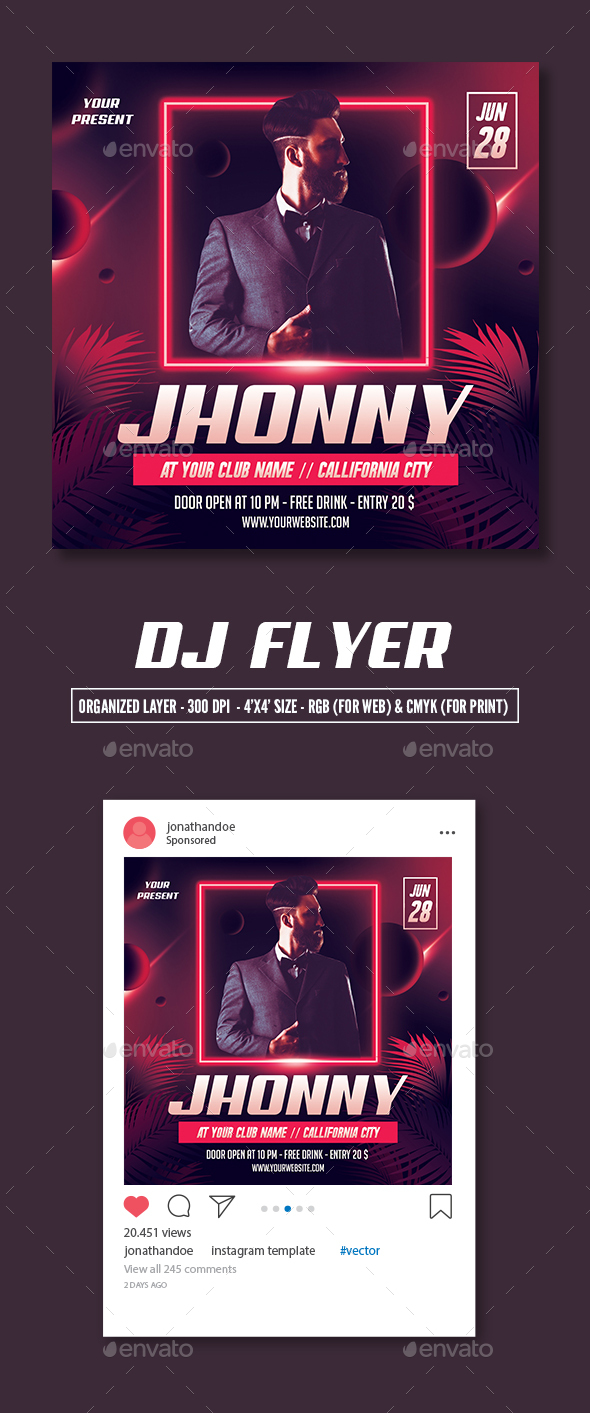 Flyers PSD – DJ Flyer Template – Download