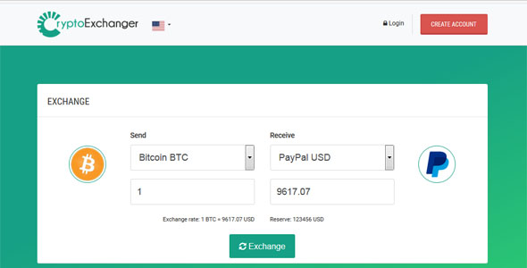 CryptoExchanger – Developed E-Forex Exchanger and Converter – PHP Script Download