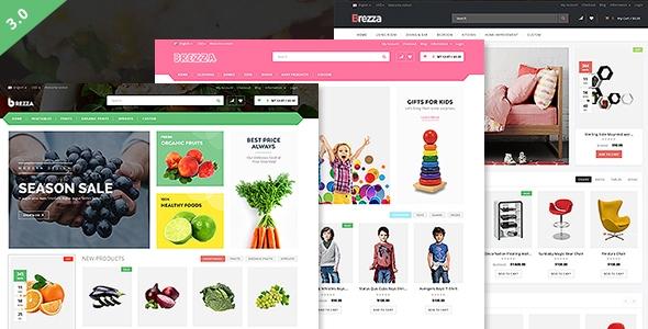 Brezza – Fruit Store Multipurpose WooCommerce WordPress Theme – WP Theme Download