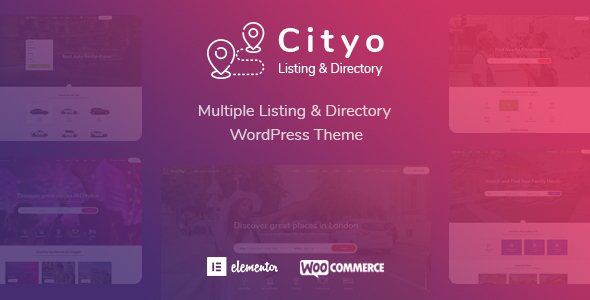 Cityo – Multiple Itemizing Itemizing WordPress Theme – WP Theme Download