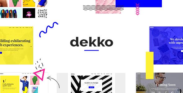 Dekko – Web Abolish Agency Theme – WP Theme Download