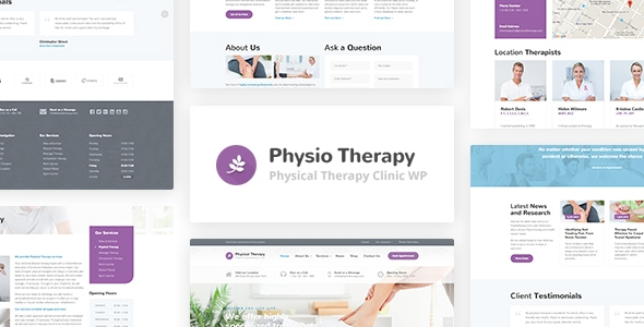 Physio – Bodily Treatment & Scientific Health facility WP Theme – WP Theme Download