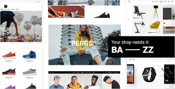 Bazz – WooCommerce Theme – WP Theme Download