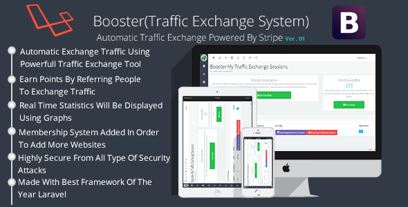 Booster Traffic Alternate Machine – PHP Script Download