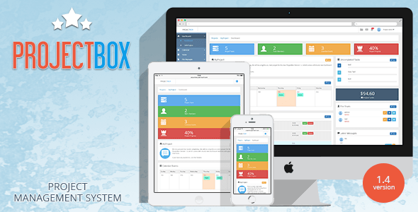 Project Box – Team Management Tool – PHP Script Download