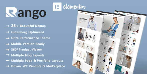 Rango | Tidy Style WooCommerce WordPress Theme  – WP Theme Download