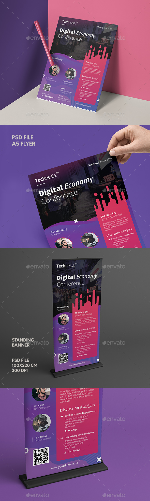 Flyers PSD – Confrence  Flier &  – Download