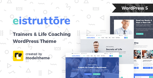 Eistruttore – Speakers and  Coaches Cafelog Theme – WP Theme Download