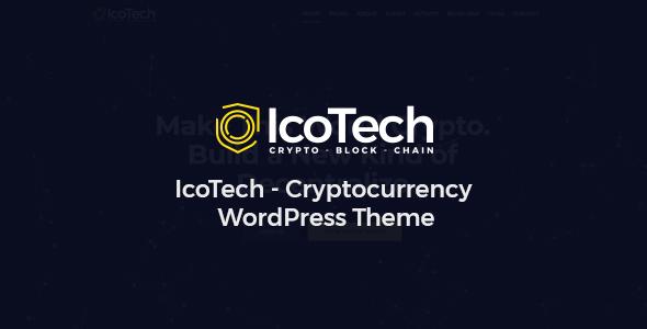 IcoTech – Crypto BlockChain WordPress Theme – WP Theme Download