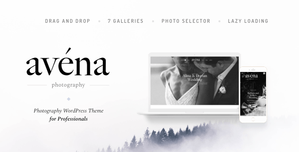 Avena – Pictures WordPress for Mavens – WP Theme Download