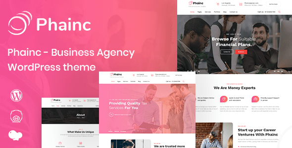Phainc – Industry Agency WordPress Theme – WP Theme Download