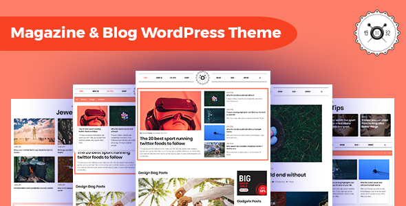 Octamag – Viral Weblog & Journal WordPress Theme – WP Theme Download