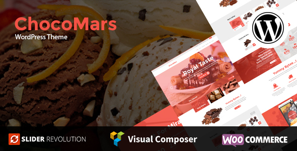 ChocoMars – Multi-Motive WordPress Theme – WP Theme Download