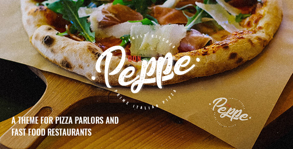 Don Peppe – Pizza and Rapid Meals Theme  – WP Theme Download