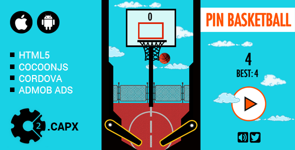 Pin Basketball – PHP Script Download