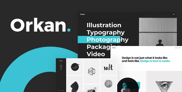 Orkan – Artist and Create Company Portfolio Theme – WP Theme Download