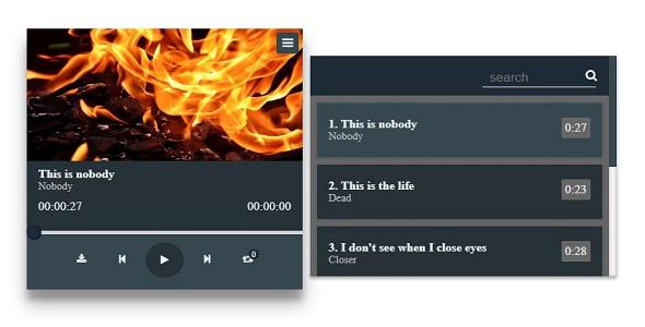 Audio Participant with Playlist – PHP Script Download