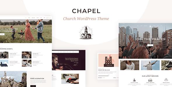 Chapel – Church Theme  – WP Theme Download
