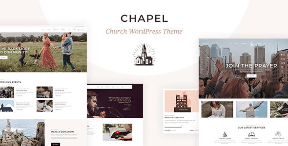 Chapel – Church Theme – WP Theme Download