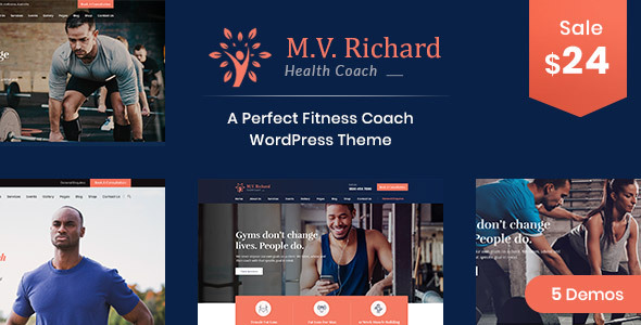 MV Richard – Successfully being and Successfully being WordPress Theme  – WP Theme Download