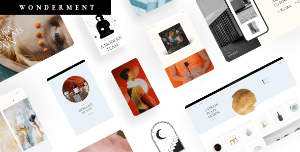 Wonderment – Company Theme – WP Theme Download