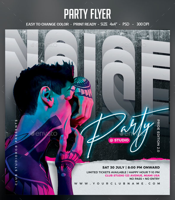 Flyers PSD – Celebration Flyer – Download