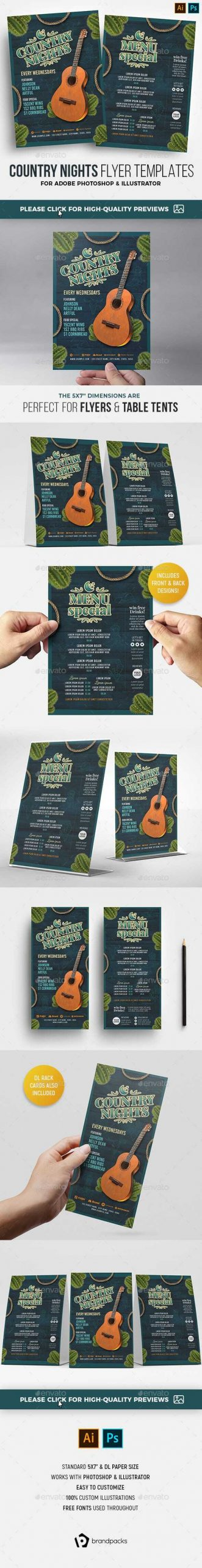 Flyers PSD – Nation Western Flyer – Download