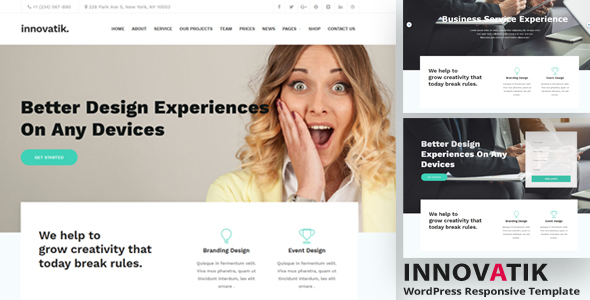 Innovatik – Reliable Corporate and Reliable Providers Theme – WP Theme Download